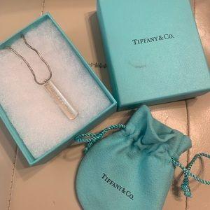 Tiffany & Co Bar pendant and chain